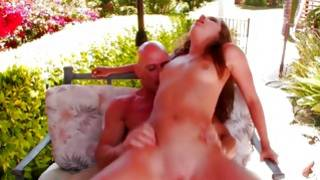 Look at this bitch getting her mouth stuffed with a fat huge boner