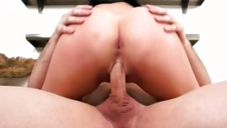 Dark-haired wicked gf is buggered cruelly