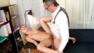 Cruel male is wildly fucking blonde girlfriend