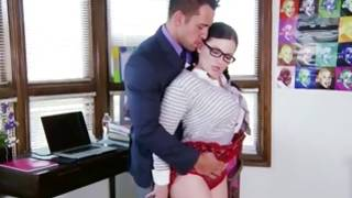 Depraved gf is fingered and fucked by vicious guy