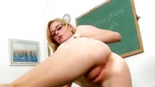 Sexy foxy blondie is fucked naughty hard